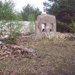 Ruine am ehemaligen NVA-Übungsplatz Paschenfeld